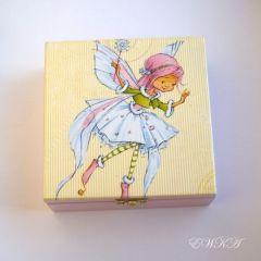 szkatulka z wrozka dla dzieci