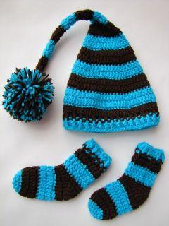 czapka krasnal bucki do sesji zdjeciowej dla noworodka