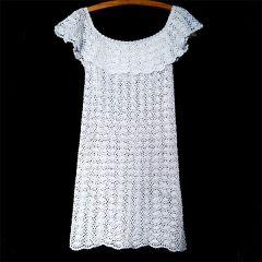 2a5f968cb4 Biała Carmen sukienka